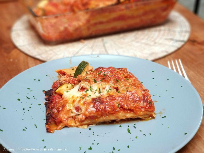 Lasagne a la bolognese sans gluten