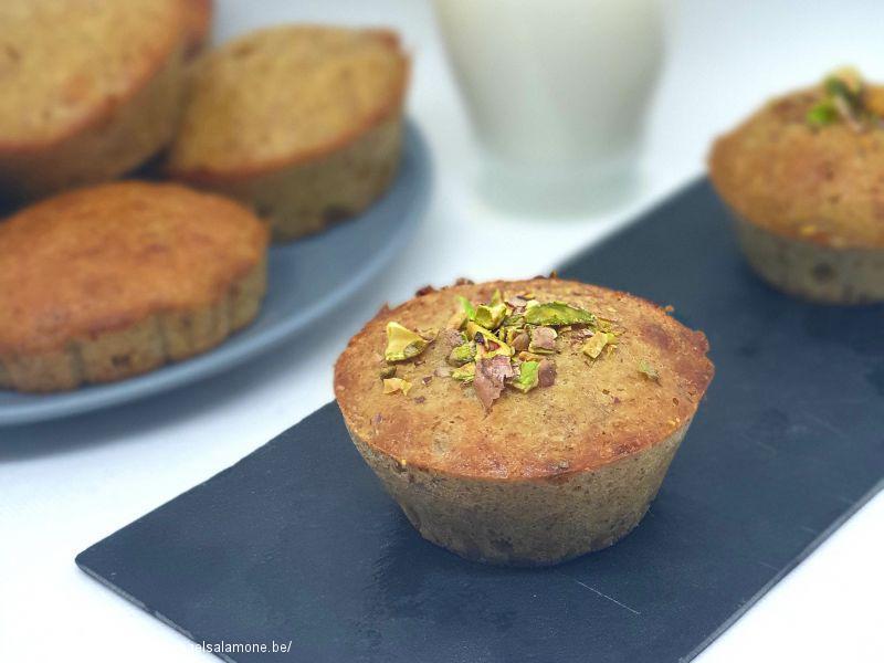 01a. Muffin kéto aux pistaches (1)